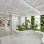 Вертикальное озеленение в отделение ProCredit Bank, г. Батуми, Грузия