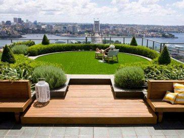 Озеленення даху, тераси